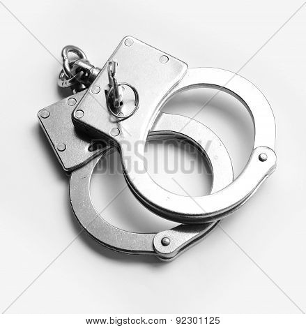 Hand Cuffs Crime Law Security Jail