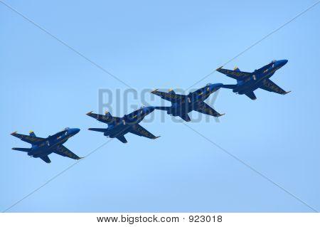 Blue Angels Diagonal 2