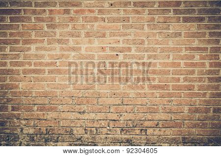 big brick wall background for design and decoration