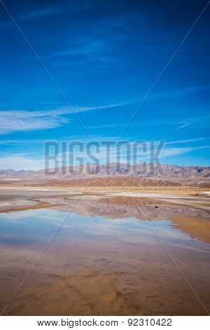 Reflecting Pond In Death Valley