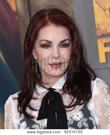 LOS ANGELES - MAY 07:  Priscilla Presley arrives to the