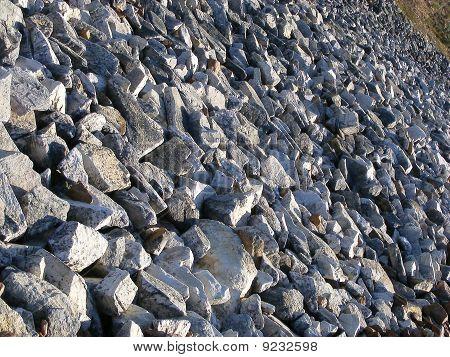 Rocky slopes