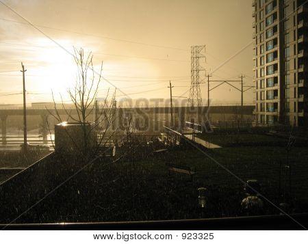 Sun Through The Storm-Clouds