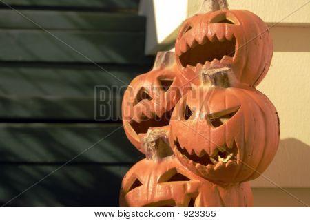 Stackolantern Pumpkins