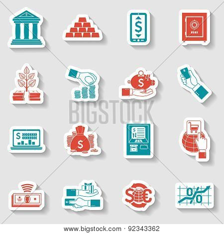 Banking Sticker Set