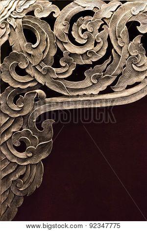Silver thai pattern