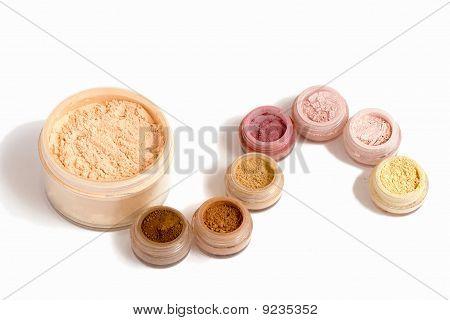 Set Of Multicoloring Cosmetics