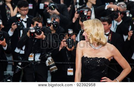 Naomi Watts at the 'Mad Max : Fury Road' Premiere during the 68th annual Cannes Film Festival on May 14, 2015 in Cannes, France.
