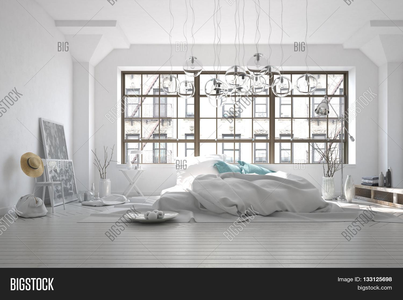Stark White Monochromatic Messy Image & Photo | Bigstock
