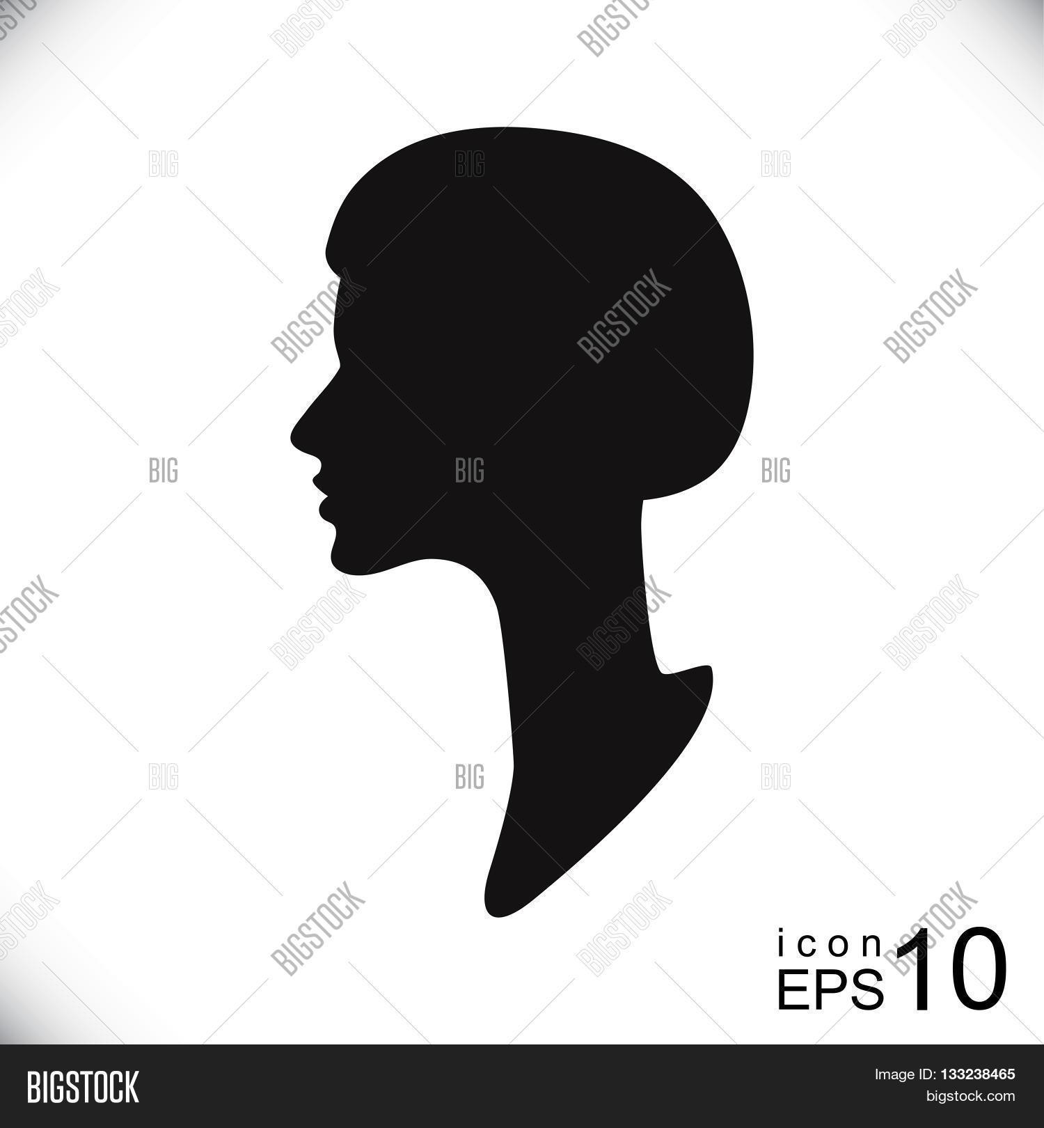 Silhouette Female Vector & Photo (Free Trial) | Bigstock
