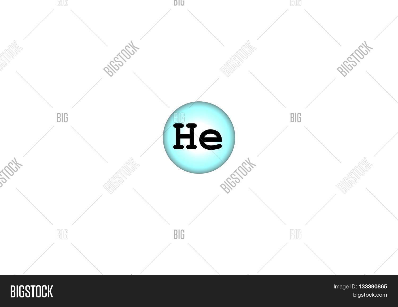 Helium Chemical Image Photo Free Trial Bigstock