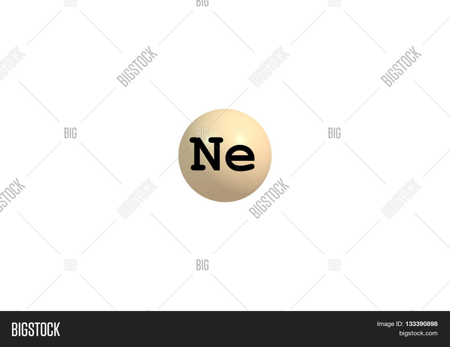 Neon chemical element image photo free trial bigstock neon is a chemical element with symbol ne and atomic number 10 it is in urtaz Choice Image