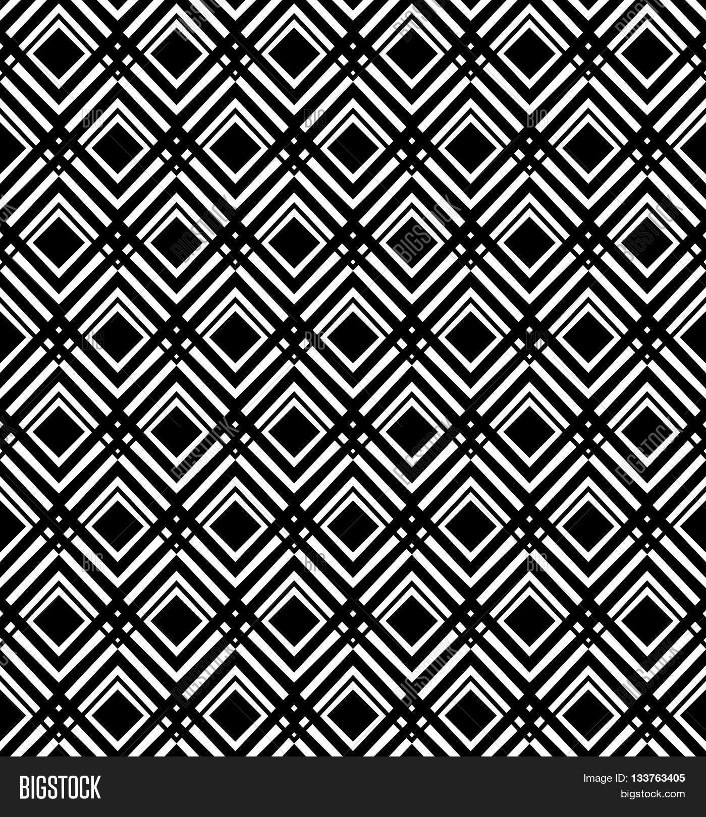 optical art pattern seamless background black and white 1