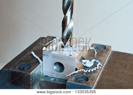 Drilling Machine Working