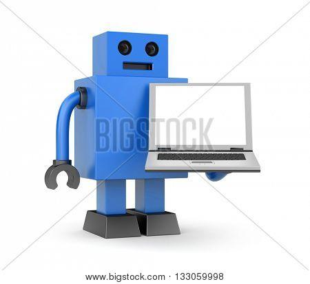 New technologies metaphor. 3d illustration