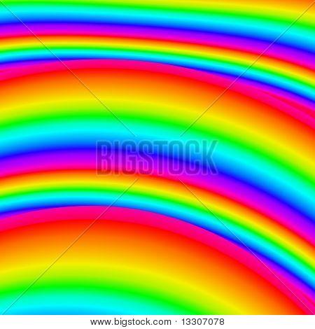 Bright Multicolored Rainbow Background