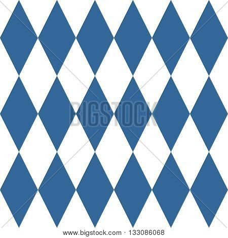 Tile vector pattern or blue and white wallpaper background