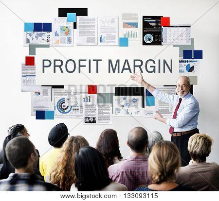 Profit Margin Payments Revenue Budget Concept