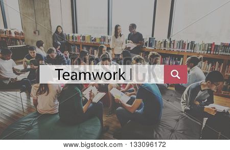 Teamwork Alliance Association Company Team Concept