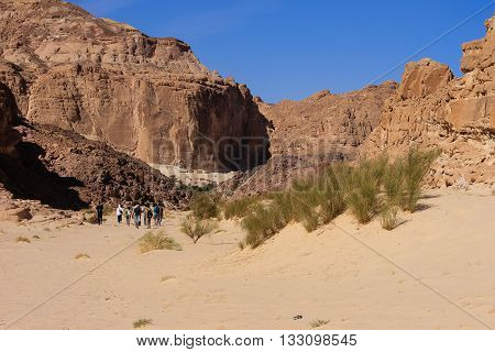 White Canyon Around Dahab