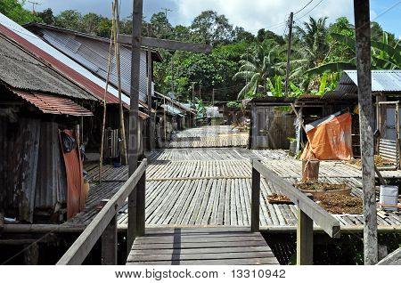 Home Of Borneo Headhunters