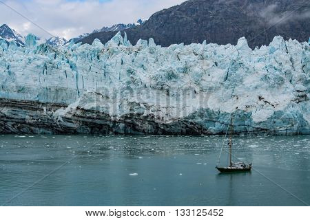 Brave men with hearty souls in Glacier Bay Alaska.