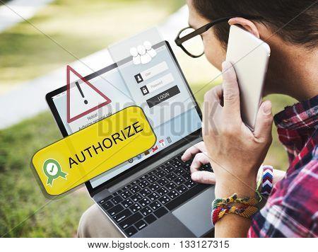 Authorisation Approve Allowance Network Concept