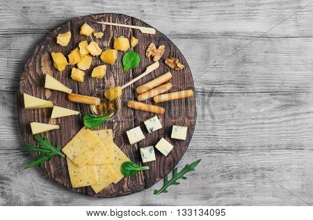 Assorted Cheeses Food Photo