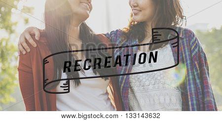 Recreation Happy Happiness Choice Attitude Concept