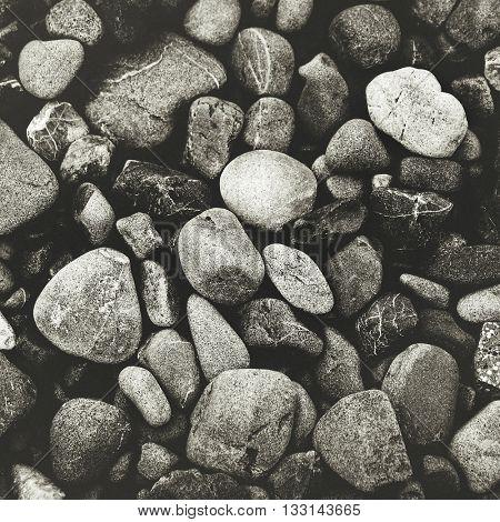 Multi Colored Pebbles Rocks Backgrounds Concept