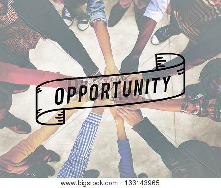 Opportunity Achievement Impossible Development Concept