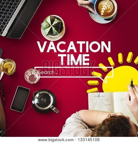 Vacation Time Trip Holiday Concept