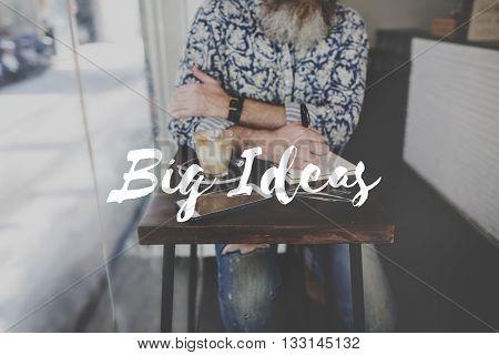 Blog Big Ideas Share Network Concept
