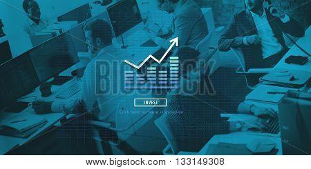 Histogram Statistics Graph Bar Chart concept