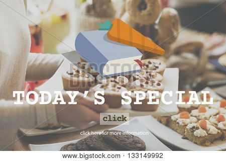 Today's Special Food Menu Meal Special Concept