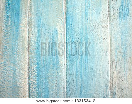 Detail of Color painted on wooden board