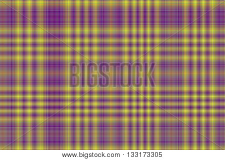 Illustration of yellow and purple checkered pattern