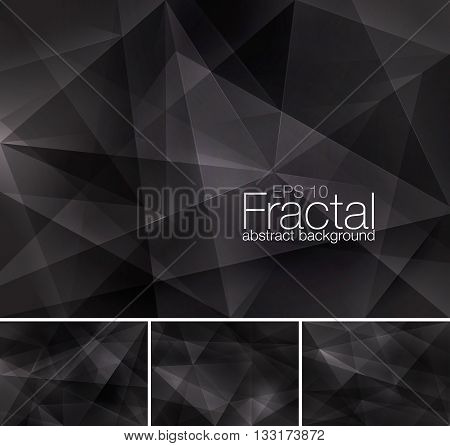 Fractal abstract background series. Suitable for your design element and background