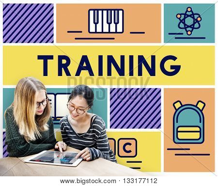 Training Tuition Education Knowledge Learning Concept
