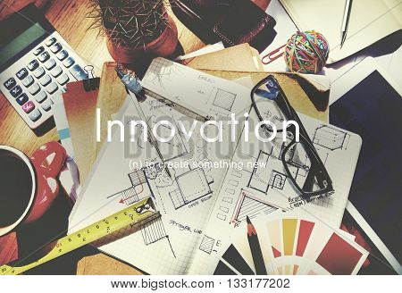 Innovation Create New Development Business Concept