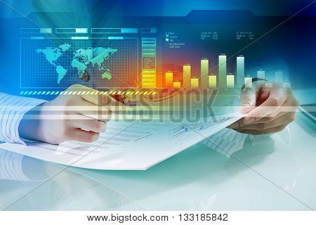 Analyzing statistics data