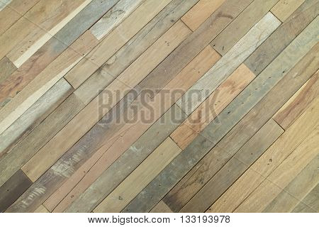 Surface Of Slant Wooden Wall For Use As Abstract Background