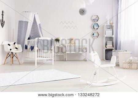 Baby Room With Nautical Decor