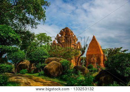 The Temple Complex Po Nagar, Ponagar Cham Tower. Nha Trang.vietnam