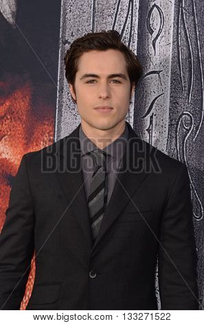 LOS ANGELES - JUN 6:  Ben Schnetzer at the Warcraft Global Premiere at TCL Chinese Theater IMAX on June 6, 2016 in Los Angeles, CA