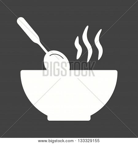 Food, hot, dinner icon vector image. Can also be used for kitchen. Suitable for use on web apps, mobile apps and print media.