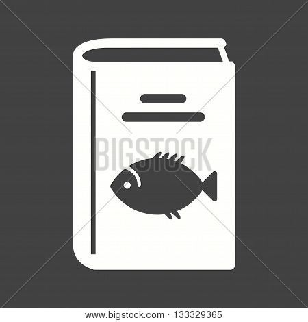 Kitchen, recipes, seafood icon vector image. Can also be used for kitchen. Suitable for use on web apps, mobile apps and print media.