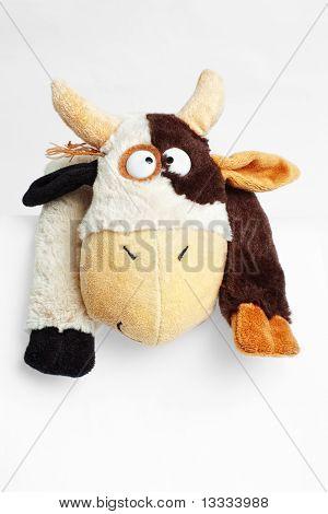 soft crazy cow toy