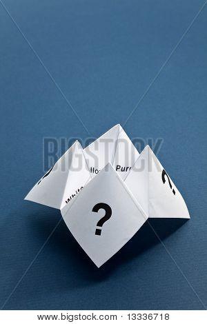 Adivino de papel
