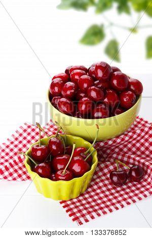 Ripe Sweet Cherries